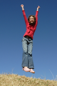 Jumping princess