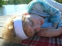 Girl on a pier 2
