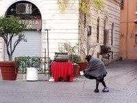 Beggar in Trastevere