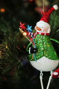 Snowman Ornament 1