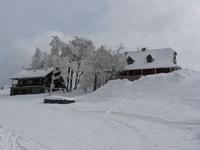 Pustevny SKI, snow