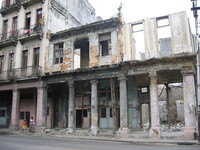 Cuban broken buildings