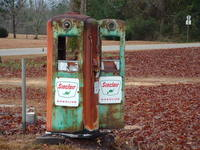 old fuel pumps