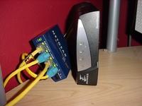 Hub & DSL Modem