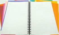 Note Book & Colour Paper