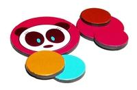 Round Panda Magnets