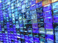 Blue Glass Brick 3