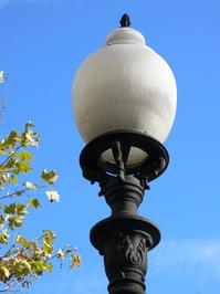 Barcelona street lamp