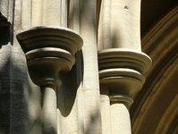 Church stonework