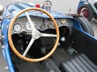 BMW 319 race car cockpit