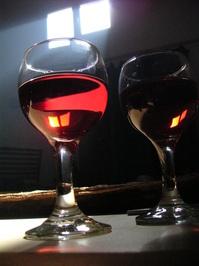testing wine in the cellar 2
