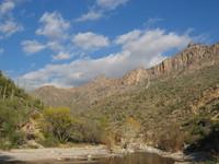 Winter in Sabino Canyon, Arizona 2