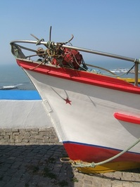 Landed Boat