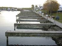 Rows of docks