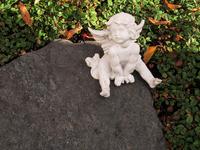 tiny angel figurine