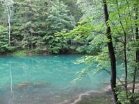 cyan lake