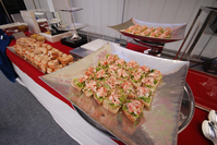 Food on platter