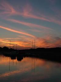 sunset ll x