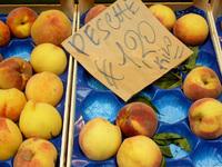 italian peaches € 1,20
