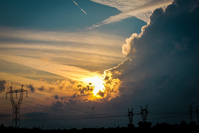 sunsets #2 3