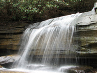 Waterfall in Chimney Rock Park