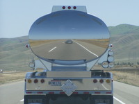 Tanker Truck Reflection