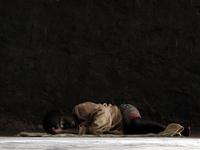 Sleeping Ugandan Orphan