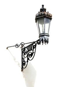 ancient street lamp
