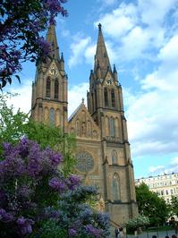 Church ind Prague