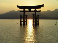 Sunset at Miyajima