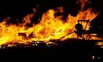 Edinburgh Hogmonay Fire