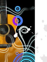 vivid blues guitar