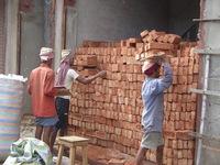 Brick layers, Calcutta (Kolkata), India