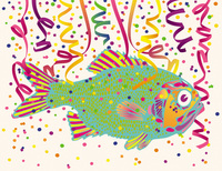 Confetti Fish 2