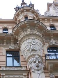 Art Nouveau Architecture, Riga, Latvia 2