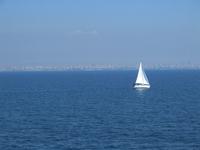 Sail-boat on Marmara Sea