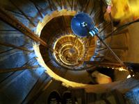 Spiral staircase, Chateau de J