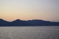 Turkish evening sea