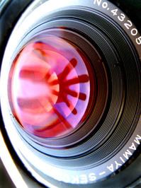 the lens 3