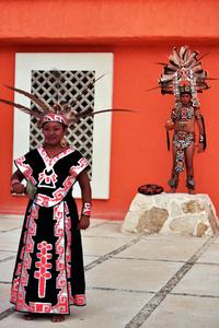 mayan dress