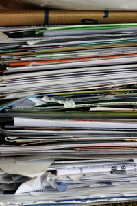 Waste-paper