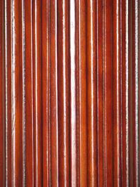 Cherry red wooden column