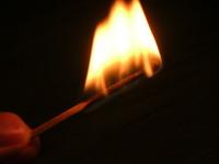 Burned matches 4