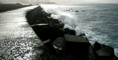 Wave in Croatia