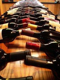 SF: Wine bottles in shop 01