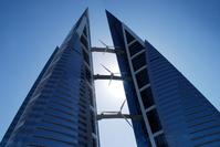 skyscraper with windenergy