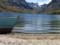 Boat in Peru