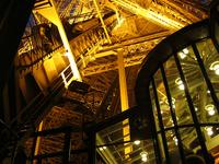 Eiffel Tower lights
