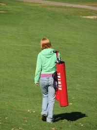 Lonely Golfer