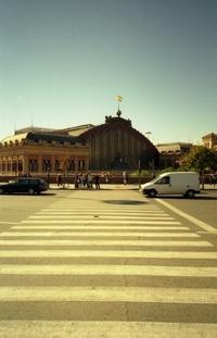 Madrid: train station